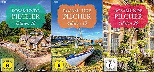 Rosamunde Pilcher Edition 18-20 (18+19+20) [DVD Set] 18 Filme