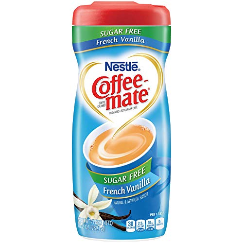 Nestle Coffee-Mate French Vanilla Sugar Free, 6er Pack (6 x 289 g)