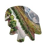 Angel Bags Highlands - Mantel ovalado para interiores y exteriores, 152 x 170 cm, para primavera, verano, fiesta, picnic