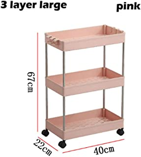 Putuio Desk Wood Based Panel Steel Frame Printer Rack Kitchen Shelf Microwave Oven Copy Machine Storage Rack Scaffale Moderna Multifunzione