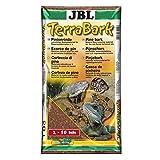 JBL TerraBark 71024 Bodensubstrat für Wald und Regenwaldterrarien Pinienrinde, 2 - 10 mm, 20 l