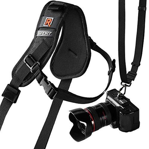 BlackRapid R-Strap Sport Breathe - ergonomischer Sling-Kameragurt für 1 mittlere bis große DSLR-Kamera
