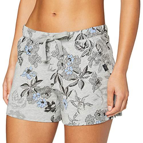 Marc O'Polo Body & Beach Mix W-Shorts Pantalón de Pijama, Gr/Mel, M para Mujer