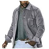 KAQQ Camisetas de Hombre Suéter Cuello Alto Básico Térmico Manga Larga Slim Fit para Hombre Color Liso Camiseta Deportiva Casual