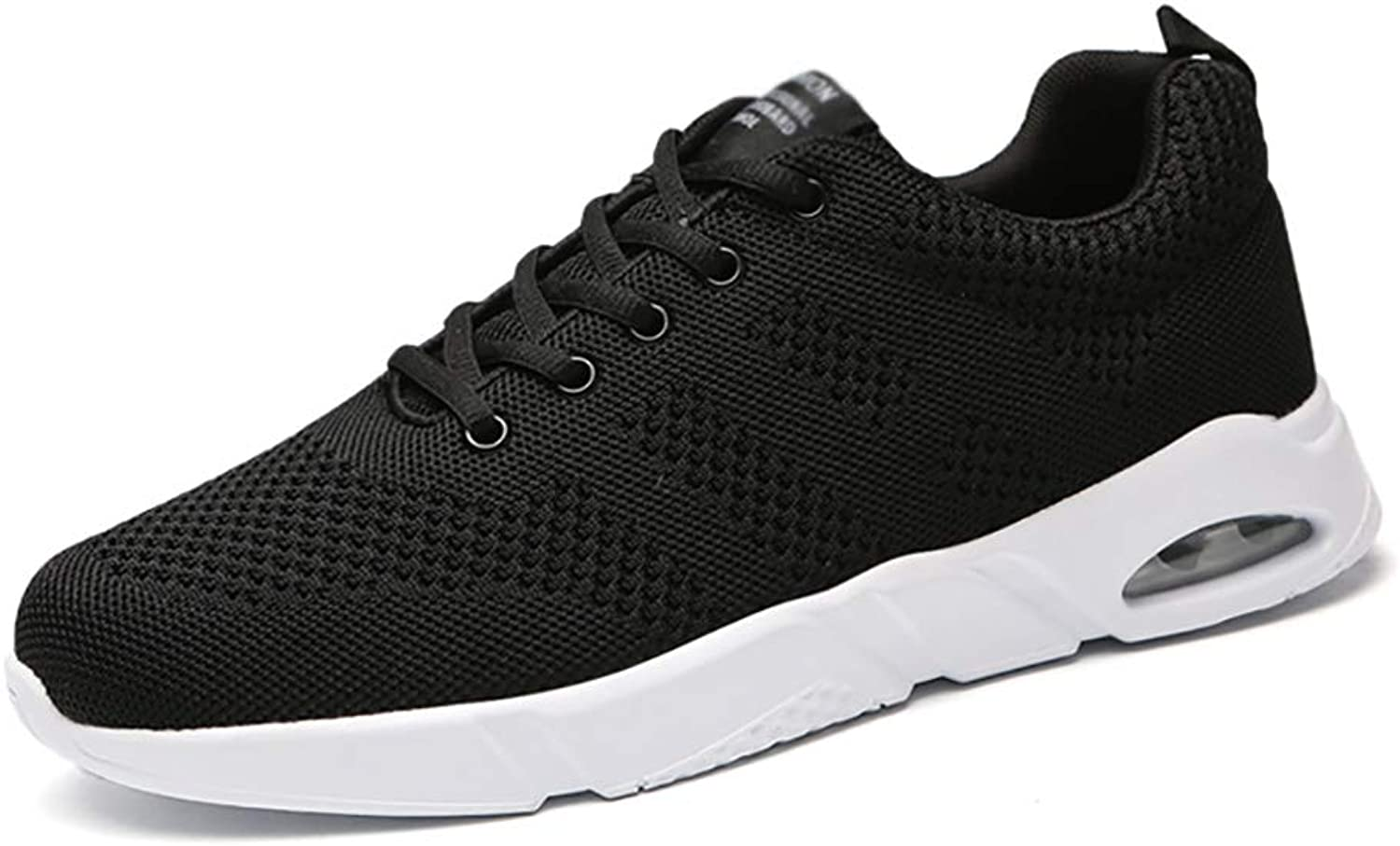 ZYFA Casual shoes Casual shoes for men and women lightweight mesh breathable sports shoes flat air cushion shock absorption sports running shoes (color   A, Size   44)