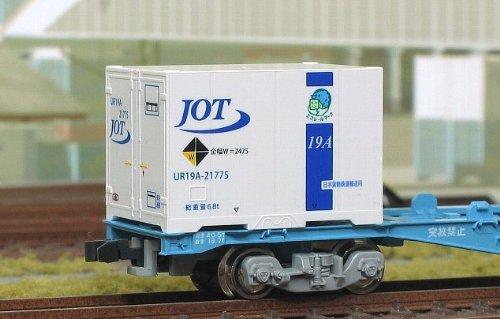 Nゲージ C-1409 12fコンテナ UR19A-20000番台タイプ JOT青ライン (規格外マーク・エコレールマーク付)