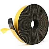 5M Draught Excluder Foam Weather Stripping Self Adhesive Tape Good Adhesion for Door Frame Window Seal (25mm (w) x 3mm(t))