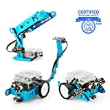 Makeblock mBot Add-on - Juguete robot 3 en 1: robot que persigue luz, robot de luz inteligente y robot escorpión