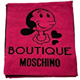 Moschino Bufanda boutique fucsia negro olivia
