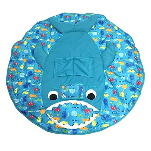 Housse de chariot de courses pour b/éb/é ou enfant 2 en 1 Cadeau id/éal pour maman. lavable en machine pour chaise haute de restaurant