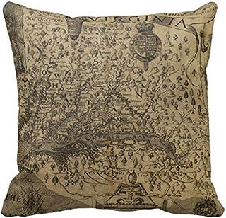 Mapa de España manta 18* 18funda de almohada