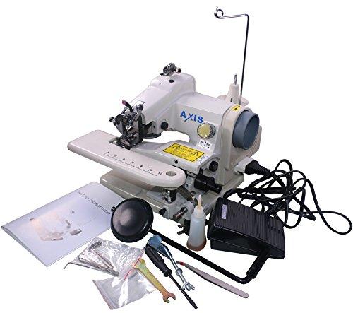 Axis 500-1 Portable Blind Stitch Hemming Machines Alterations Hem Pants - Dressmaker Sewing Machine Blindstitch Hemmer Pedal Professional