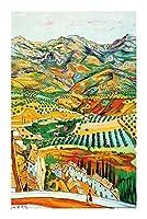 世界的に有名な絵画油絵シリーズジグソーパズル-ヴィンセントヴァンゴッホのフィールド-木製環境保護ギフト(500/1000/1500個) BBJOZ (Size : 1500pcs)