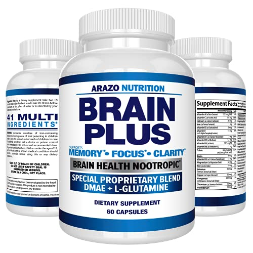Arazo Nutrition Brain Plus Brain Nootropic