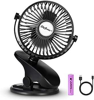SkyGenius Battery Operated Stroller Fan
