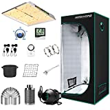MARS HYDRO Grow Tent Kit Complete 2.3x2.3ft...
