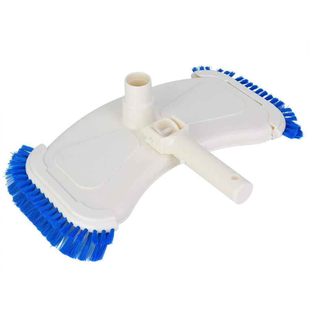 KKmoon Aspirador curvo para piscina,Aspirador de succión,Aspirador Cepillo Cepillo de limpieza de piscina,Aspirador de piscina Aspirador Cepillos laterales: Amazon.es: Bricolaje y herramientas