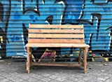 Banco de palets reciclado, de madera, para jardín o interior, reciclado.