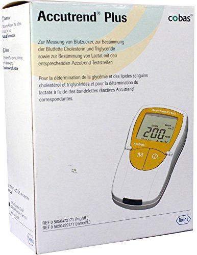 Accutrend Plus, 1 Gerät - 4 Kontrollwerte mg/dl