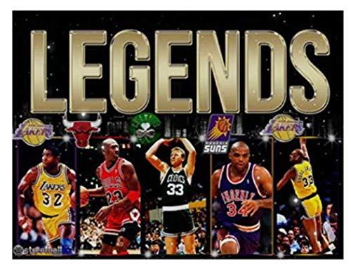 ZYHSB Rompecabezas De Madera 1000 Piezas Baloncesto NBA MVP All Star Carteles Juguetes para Niños Adultos Juego De Descompresión Ty157Xl