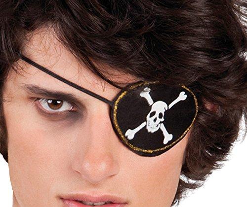 Boland 10102821 Kostümset Pirat, Augenklappe und Ohrring, One Size