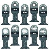 TopsTools UN44J_10 - Lame da taglio per legno grezzo, compatibili con Bosch Fein (non StarLock), Makita Milwaukee Einhell Ergotools Hitachi Parkside Ryobi Worx Workzone Multi Tool Accessori