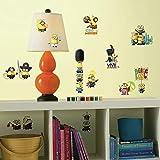 RoomMates Pegatina de Pared, Vinilo, Multicolor, 70.00x60.00x0.50 cm