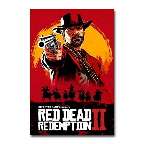 póster red dead redemption 2 fabricante MXLF