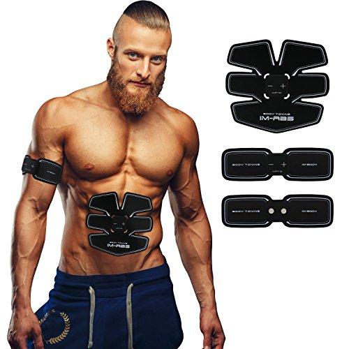 Muscolare Automatica-Training Elettrostimolatore USB Ricaricabile Uomo/Donna (2-controllore)