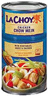 La Choy Chicken Chow Mein with Vegetable Sauce & Chicken Bi-Pack Dinner 42 oz (Pack of 12)