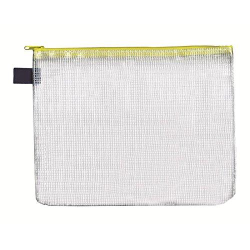 Reissverschluss-Beutel A5, mit Zip, gelb, 10 Stück Stück