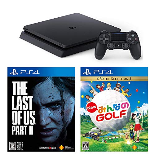 PlayStation 4 New みんなのGOLF The Last of Us Part II セット 【CEROレーティング「Z」】