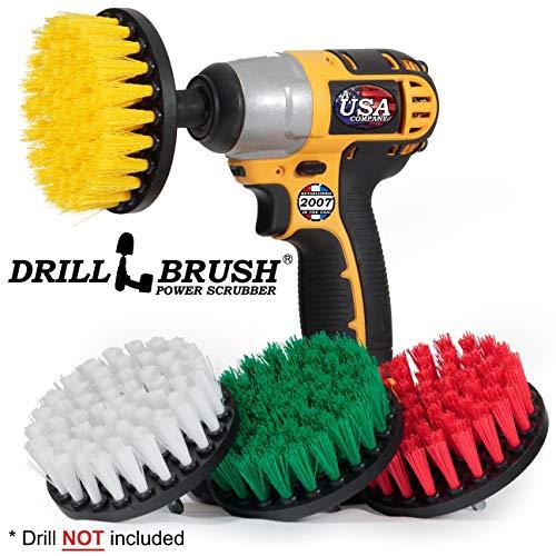 Cleaning Supplies - Drill Brush - Bathroom Accessories - Shower Cleaner - Tile - Bathtub - Bath Mat - Sink - Flooring - Kitchen Accessories - Spin Brush - Stove - Oven - Scrub Brush - Bird Bath