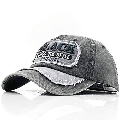 Baseball Kappe Baseball Cap Frauen Hüte Für Männer Trucker Brand Snapback Caps Männlich Vintage Stickerei Casquette Bone Schwarz Dad Hat Caps Schwarz
