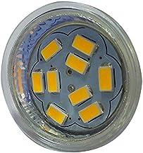 Gesh 4W GU4 (MR11) LED Spotlight MR11 9 SMD 5730 430 lm 12V, warm wit
