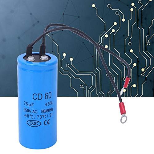 Condensador de arranque del motor en funcionamiento 250 V resistente a la corriente de impulso para frigorífico