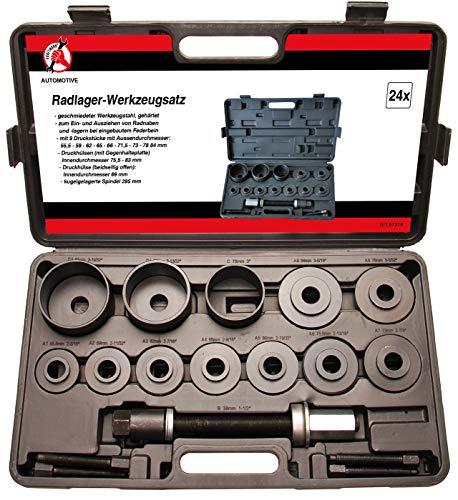Kraftmann 67310 | Radlager-Werkzeug-Satz | universal | 21-tlg.