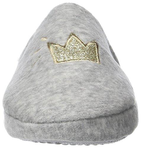 Women's Secret Suave de Miffy, Zapatillas de Estar por casa con talón Abierto Mujer, Gris (Grey), 38 EU