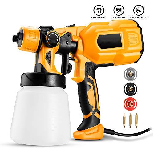 Spray Gun 550W 220V High Power thuis elektrische verfspuitmachine, 3 Nozzle Gemakkelijk spuiten en Clean Perfect voor Beginners
