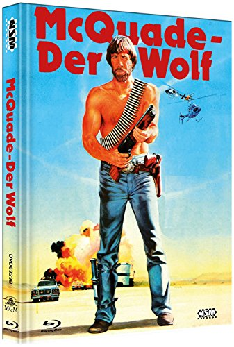 Mc Quade der Wolf - uncut (Blu-Ray+DVD) auf 555 limitiertes Mediabook Cover B [Limited Collector's Edition] [Limited Edition]