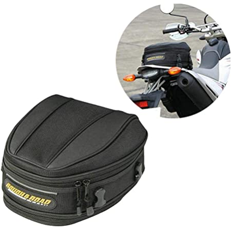 Knowledgi Motorrad Hintere Tasche Satteltasche Wasserdichte Motorrad Hecktasche Hintere Sitztasche Mit Großer Kapazität Motorrad Tasche Sport Freizeit