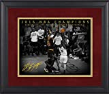 LeBron James Cleveland Cavaliers Framed 11' x 14' NBA Finals Game 7 Chasedown Block Moments Spotlight - Facsimile Signature - NBA Player Plaques and Collages