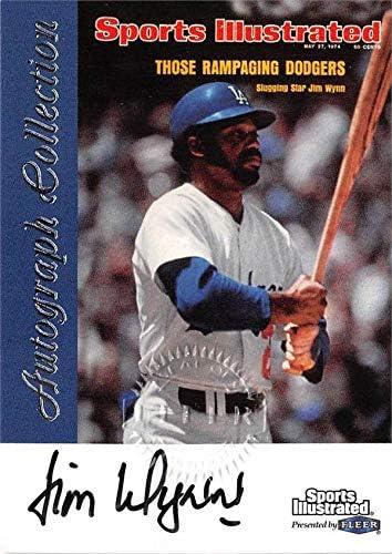 Excellence Autograph Philadelphia Mall Warehouse 637412 Jim Wynn - Baseball Autographed Card