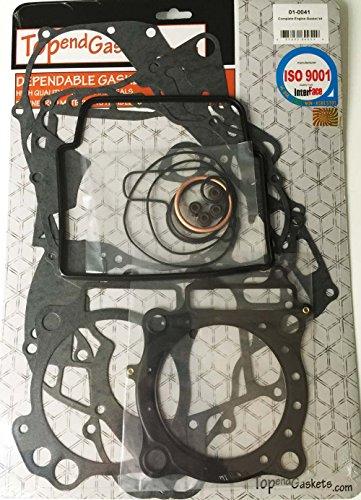 Complete Gasket Set Kit HONDA TRX450R Sportrax STD BORE with Valve seals