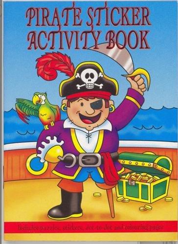 Pirate Mini livre acitvity autocollant (vendu à l'unité)