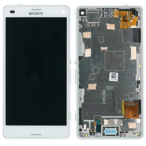 NG-Mobile Display Modul LCD Touchscreen Glas Scheibe Bildschirm weiß für Sony Xperia Z3 compact D5803
