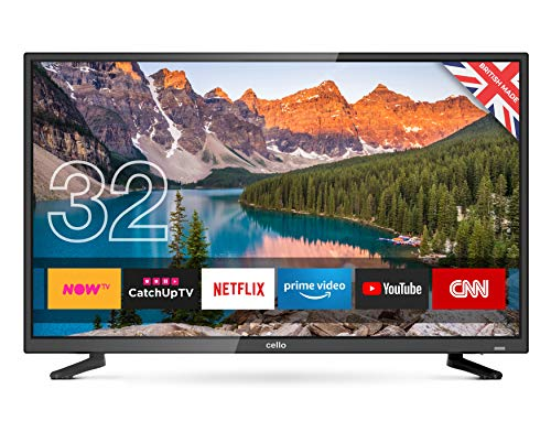 Cello C32SFS 32-Inch Android 7.0 Smart LED TV with T2 HD Made In The UK
