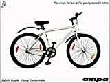 Ampa Cycles Carbon 26 Freestyle Lightweight Hybrid Bike for Adults | Cycle