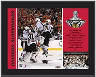 Chicago Blackhawks 2010 Stanley Cup Champions Plaque - NHL Team Plaques and Collages