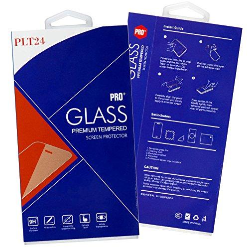 [2-Pack] PLT24 Panzer Schutzfolie Display Glas Folie Schutzglas Glass Glasfolie kompatibel mit Huawei P8 Lite - PASST Nicht FÜR P8 Lite 2017 - - 5
